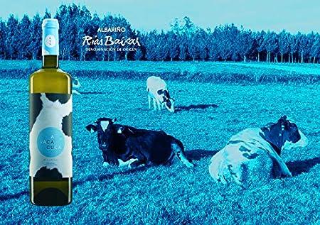 A Vaca Cuca 2019 - vino blanco, albariño, D.O. Rías Baixas, 75 cl