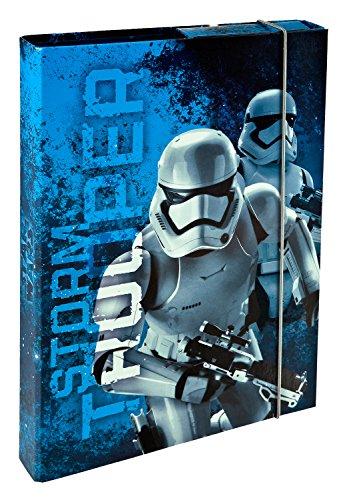 Undercover SWMK8300  Schulrucksack, Star Wars, ca. 43 x 32 x 12 cm Blau Heftbox A4