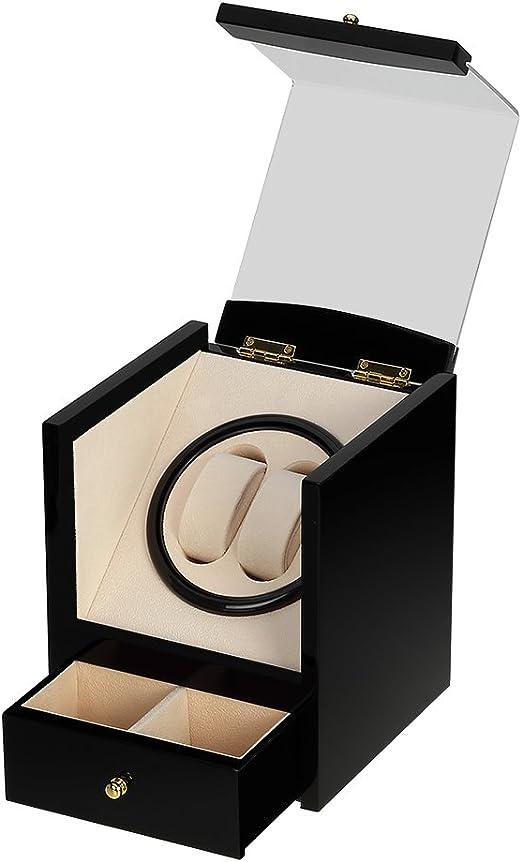Caja giratoria para Relojes automatico Watch Winder Madera de ...