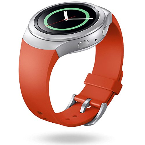 SKYLET Samsung Smartwatch Replacement Tangerine