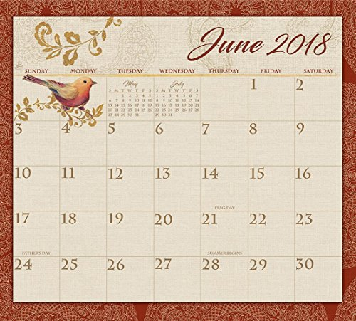 Legacy Publishing Group 2018 Magnetic Calendar Pad, Spice Route