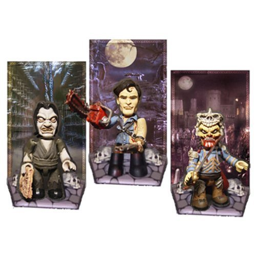 ARMY OF DARKNESS Mezits figure set by mezco
