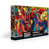 Quebra Cabeça 2000 Peças Viva a Música Toyster Brinquedos