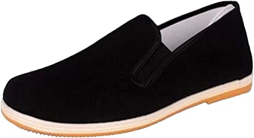 DADAWEN Kung-Fu Martial Arts Tai-Chi Shoes with Soft Cushion Layers Sew by Hand