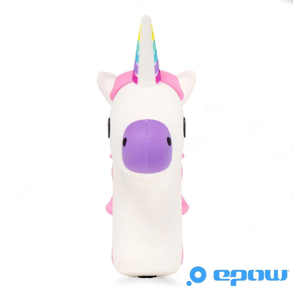EPOW® Cargador unicornio 2600mAh EMOJI Power Bank unicornio Horse, emoticono portátil de la batería Diversión Pokemon GO, cargador externo del banco de la ...