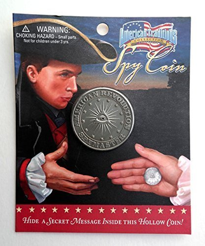 Turn Spy American Revolution Spy Toy Coin