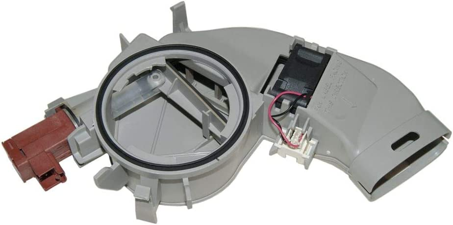 Whirlpool W10469574 Dishwasher Vent and Fan Assembly Genuine Original Equipment Manufacturer (OEM) Part