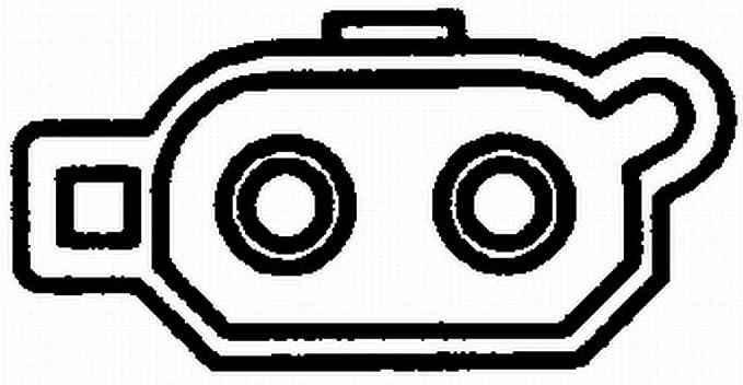 Hella 6pt 009 107 281 Sensor Kühlmitteltemperatur 12v Geschraubt Mit Dichtung Mit Kabel Auto