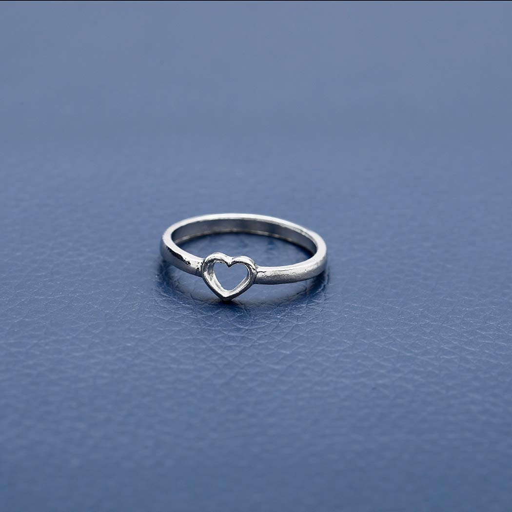 Simsly Vintage Knuckle cuore anello oro o argento cristallo Joint Knuckle Ring set con Cresent per donne e ragazze 12 pezzi