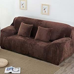 Amazon.com: Winter Thick Sofa Cover Simple Modern All ...