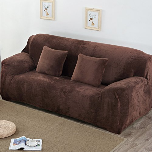 Amazon.com: Winter Thick Sofa Cover Simple Modern All ...