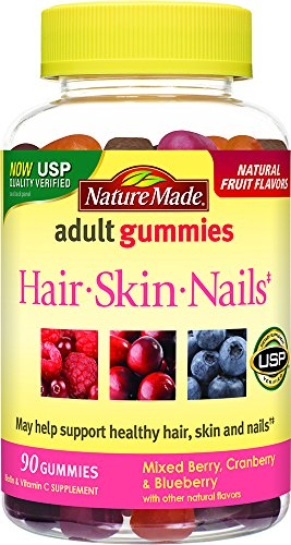 Nature Made Hair, Skin & Nails Adult Gummies 90 Ct
