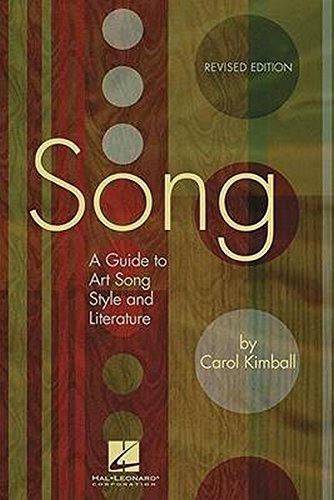 Download Song: A Guide to Art Song Style and Literature ebook