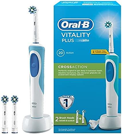 Oral B Vitality Plus Cross Action Electric Toothbrush