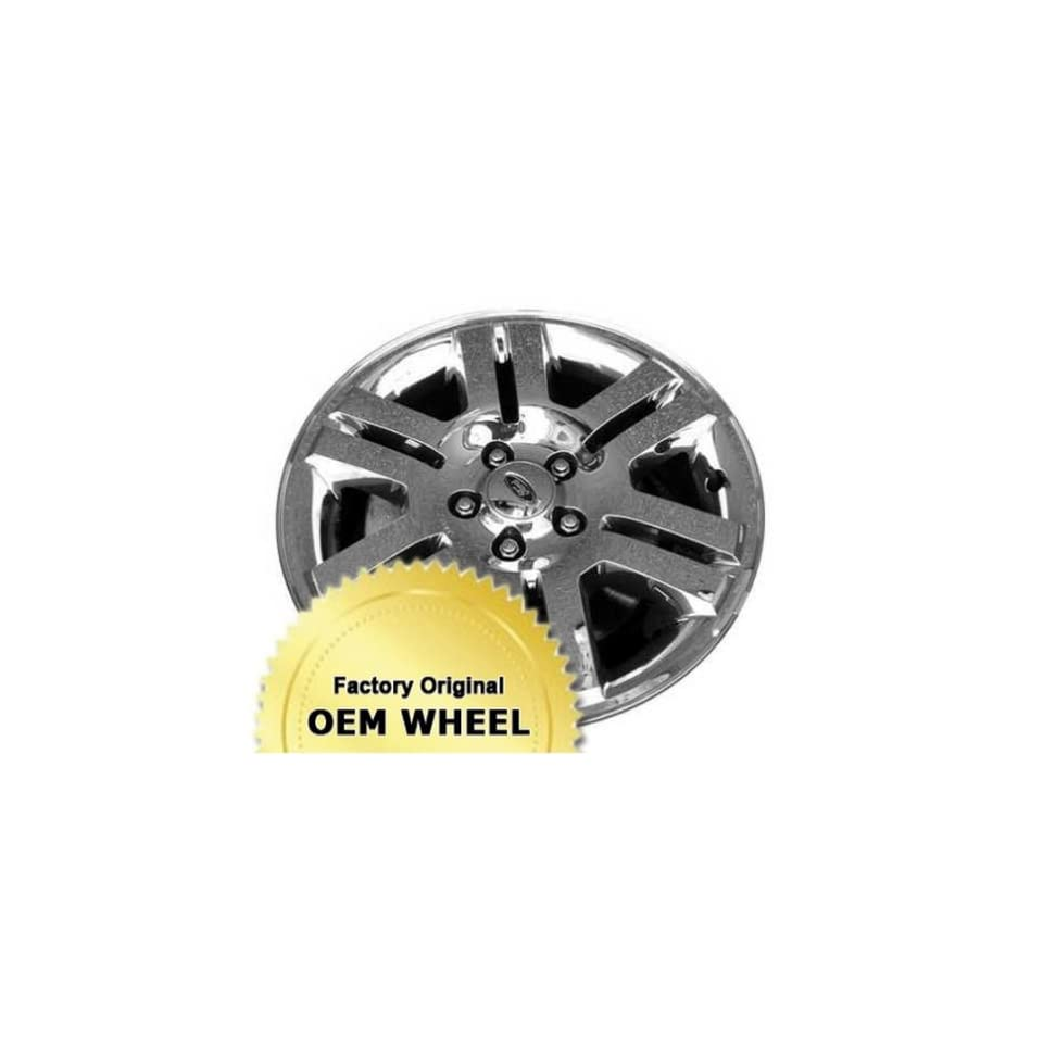Ford Mercury Explorer Mountaineer 18X7.5 5 114.3 6 Split Spokes Factory Oem Wheel Rim   Polished Cladded Finish Automotive