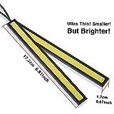 LEDKINGDOMUS-4PCS-Waterproof-Aluminum-High-Power-6W-Car-COB-Lights-6000K-White-LED-DRL-Daytime-Running-Light-Fog-Driving-Lamp-12vwhite