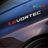 vortec decal - 2x 5.3L Vortec Decal sticker Compatible with Chevrolet, Jeep, ford, dodge,toyota or similar 8
