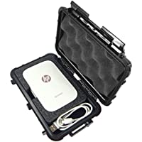 CASE Designed for HP Sprocket Portable Photo Printer – Crushproof Waterproof Protective Carrying Travel Case Bag Specially Designed To Store Mini HP Sprocket Printer , Zink Photo Paper and Charger