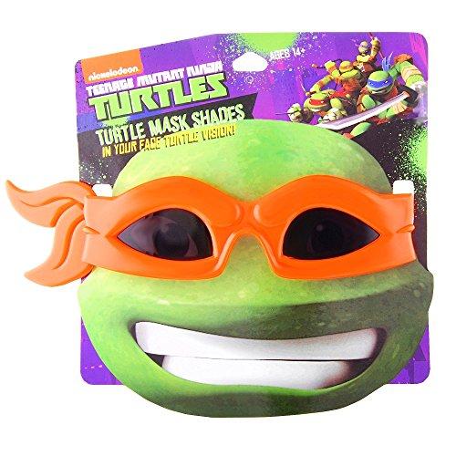 [Teenage Mutant Ninja Turtle Costume Mask/Sunglasses from Stop On Buy (Orange)] (The Orange Ninja Turtle Costume)