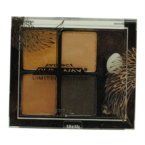 L'oreal Studio Secrets Pressed Eyeshadow Quad,215 Watchful Owl`s Gaze