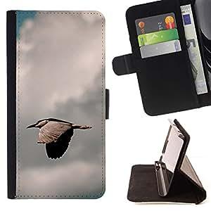 Momo Phone Case / Flip Funda de Cuero Case Cover - Pájaro rápida;;;;;;;; - Samsung Galaxy S6 Active G890A