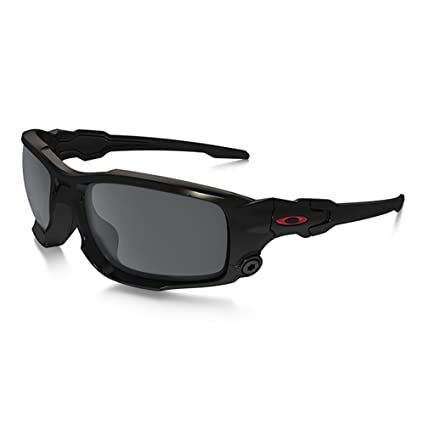 0a0ca3a5f2 Image Unavailable. Image not available for. Color  Oakley SI Ballistic  Shocktube Black with Black Iridium Lens