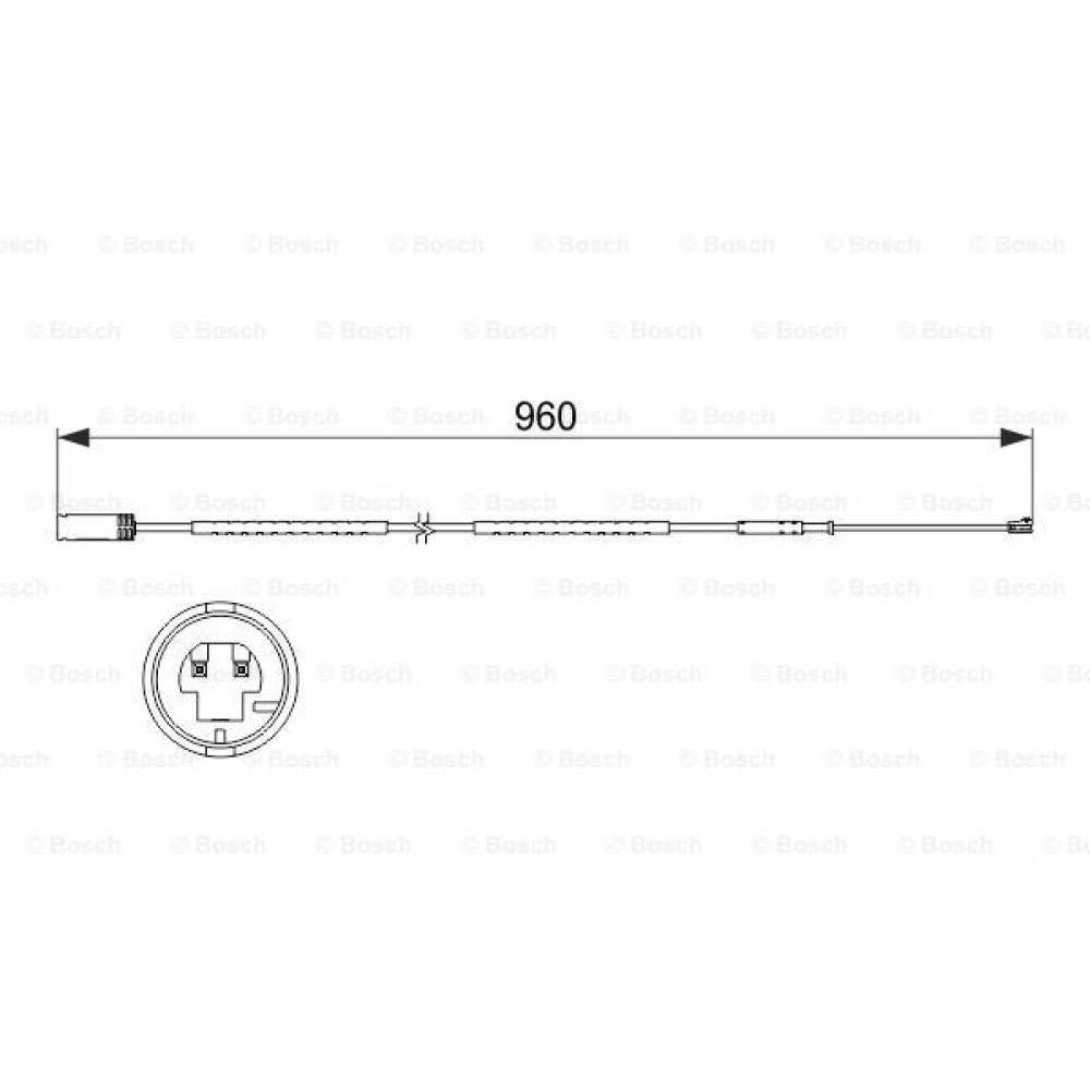 Bosch 1987473523 Sensore dUsura