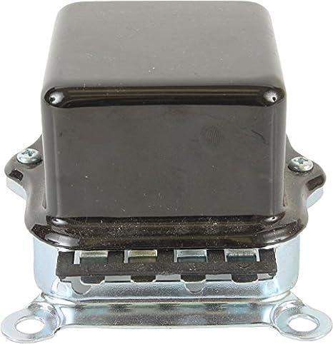 D635 Tractor Older Vehicles 1119502 1119506 1119512 1119515 1119516 1119519 D630 D635 D663 1A-6052 231-12010 DB Electrical ADR6001 12 Volt New External Voltage Regulator For Delco 10Dn 20Dn D630