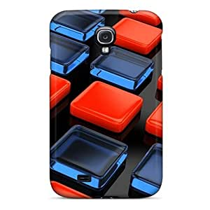 Faddish Phone Blocks Case For Galaxy S4 / Perfect Case Cover