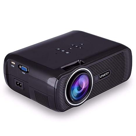 JYL Proyector 1080P Full HD y Pantalla de 170 Compatible con ...