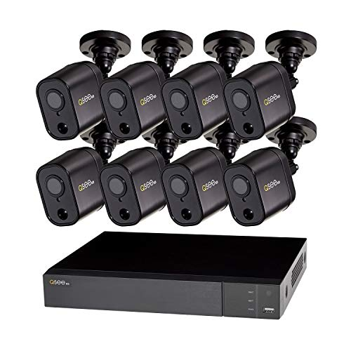 Q-See QTH98-8GD-2 8 Channel 1080p 2TB HDD PIR DVR Digital Video Recorder CCTV Security System w 8x PIR 1080p Cameras