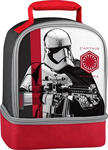 Thermos Licensed Dual Lunch Kit, Star Wars Episode 8 - Captain Phasma