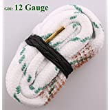 New Bore Snake Cleaner .17 22 30 32 38 40 44 50 Cal & 5.56 7.62 6, 7 9mm & 10 12 20 28 410 Gauge Rifle/Pistol/Shotgun Cleaning