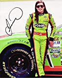AUTOGRAPHED 2013 Danica Patrick #10 GoDaddy Racing (Qualifying) 8X10 NASCAR Signed Glossy Photo with COA