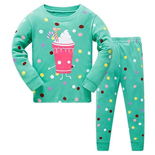 Christmas Family Pajamas Children Clothes Set 100/% Cotton Little Kids Pjs Sleepwear