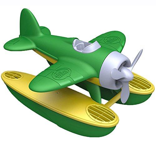 Green Toys 66060 - Véhicule Miniature - Modèle Simple - Seaplane - Vert