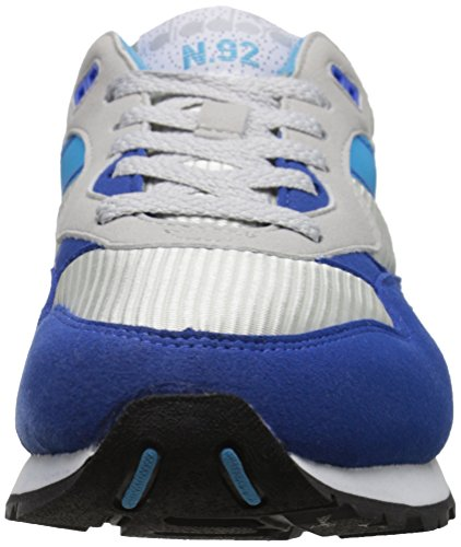 Diadora Mens N92 Skate Schoen Grijs Alaska / Microblauw