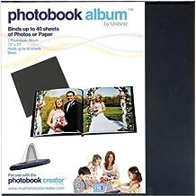 "Photobook Album 12""X12"" 1/Pkg-Black Linen 9mm"