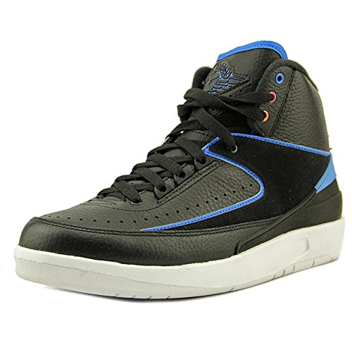 Air Jordan 2 ''Radio Raheem'' - 834274 014, Black/Photo Blue/White/Fr Pink, 12 D(M) US by NIKE