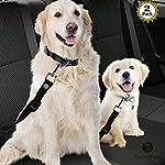 Adjustable Dog Safety Belt for Car-Dog Seat Belt for Car -Dog Car Harness | Pet Travel Accessories.