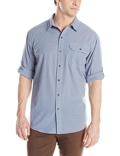 UPC 757278395726, White Sierra Men's Cottonwood Long Sleeve Shirt, Reef, Large