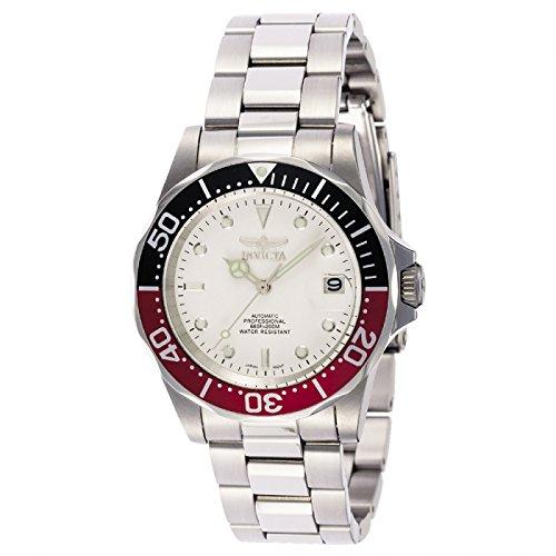 Invicta 9404 Pro Diver Reloj Unisex acero inoxidable Automático Esfera blanco: Invicta: Amazon.es: Relojes