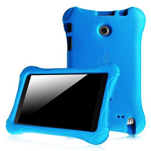 Fintie LG G Pad F 8.0 / G Pad II 8.0 Kiddie Case - Ultra Light Weight Shock Proof Kids Friendly Cover [Fit 4G LTE AT&T V495/T-Mobile V496/US Cellular UK495] & [G Pad 2 8.0 V498] 8-Inch Tablet, Blue (Lg Tablet Case Kids)