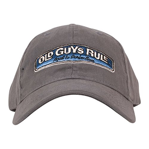 Old Guys Rule Rear View Cap, Slate , One (Old Man Cap)