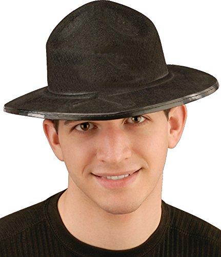 Black Mounted Police Hat