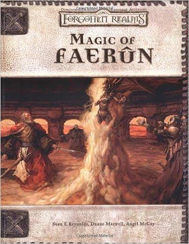 Magic of Faerun Forgotten Realms Accessory