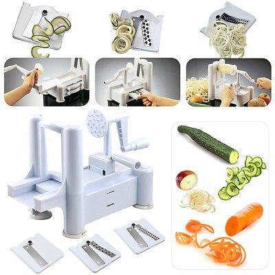 Vegetable Spiralizer Chopper Mandolin Stainless product image