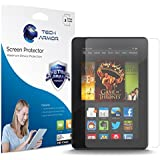 """Kindle Fire HDX 7"""" Screen Protector, Tech Armor High Definition HD-Clear Amazon Kindle Fire HDX 7"""" (2013) Screen Protector [3-Pack]"""