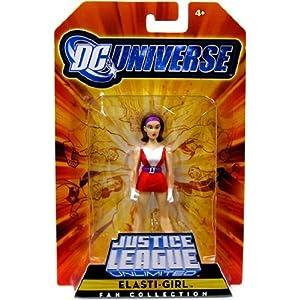 514oqfBpo L. SS300 DC Universe Justice League Unlimited Exclusive Doom Patrol Action Figure ElastiGirl by Mattel