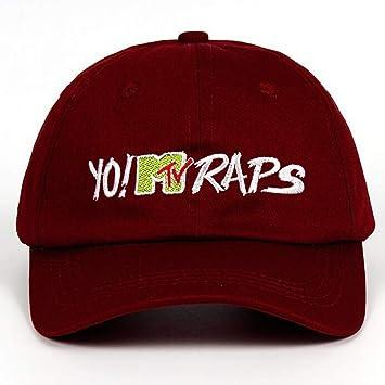 JKYJYJ Algodón Yo! MTV Raps Gorra De Béisbol Casquette De Marques ...